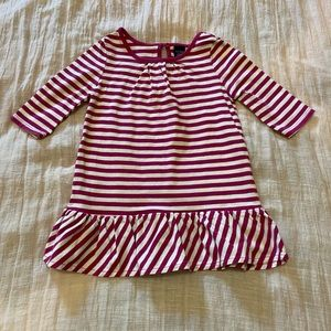 Baby Gap Striped Ruffled Dress